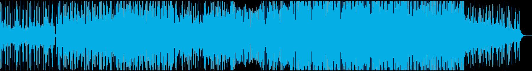 クールドラマティックなフューチャービートの再生済みの波形