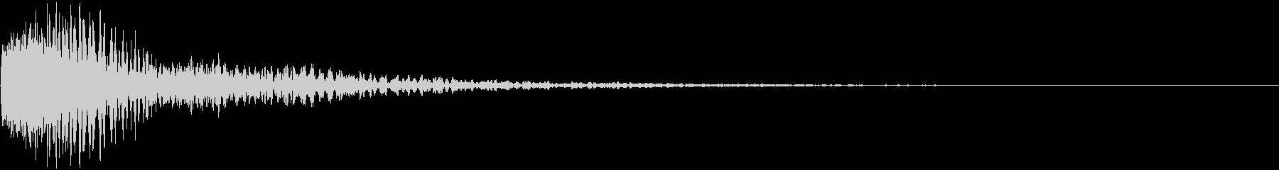 レーザー・電子砲・ビーム・光線銃2の未再生の波形