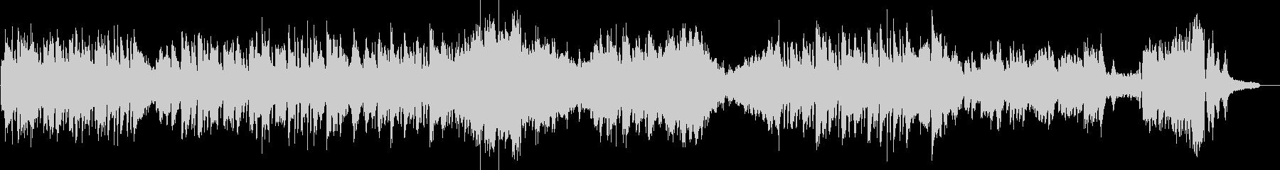 ショパン エチュード Op10 No8の未再生の波形