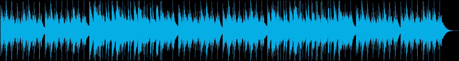 綺麗で静かなアコースティックギター曲 aの再生済みの波形