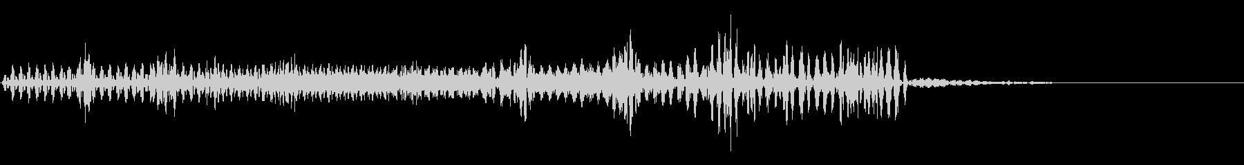 【SE 効果音】不気味な音の未再生の波形