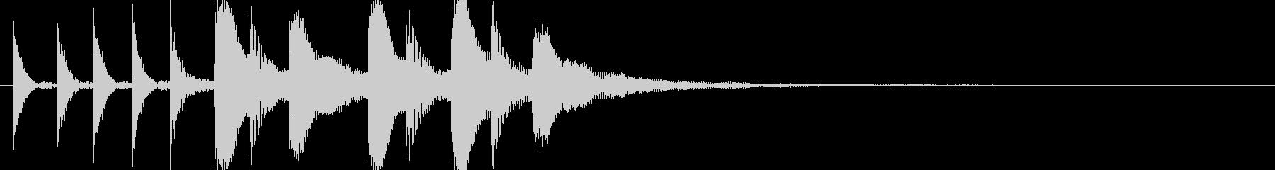 ドラム/ティンバレス フィルイン 16の未再生の波形