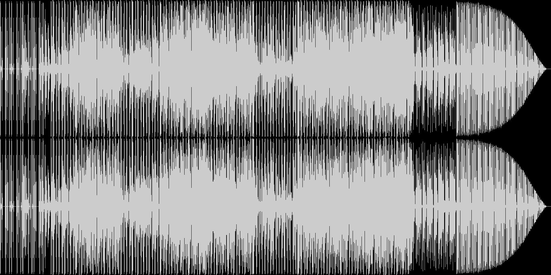 technoですの未再生の波形