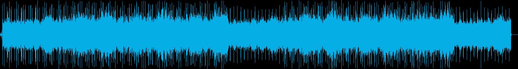 ゆったりお洒落 ローファイなジャズの再生済みの波形