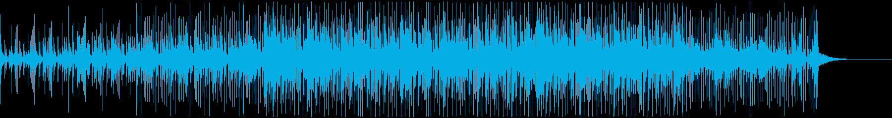 ほのぼのとしミニマルな雰囲気のジングルの再生済みの波形
