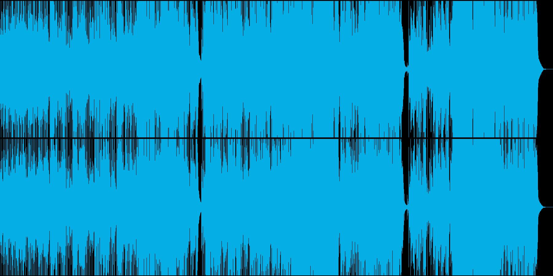 イギリスミュージカルシンガー王道ポップの再生済みの波形