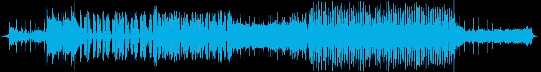 フューチャー感のあるポップスの再生済みの波形