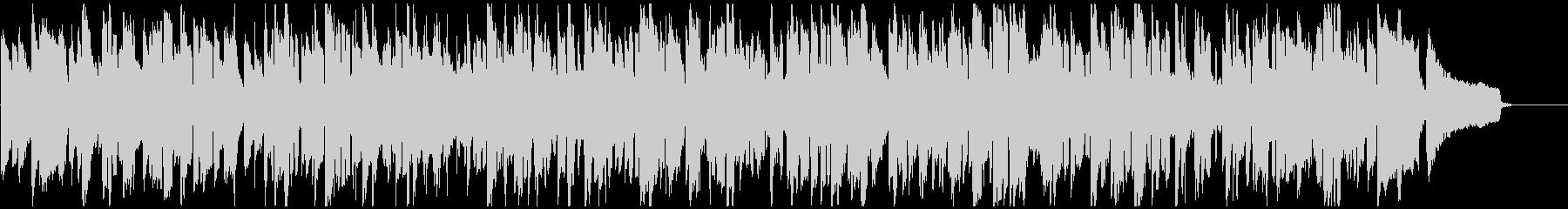 珍しいリコーダーのジャズ、かわいい音色の未再生の波形