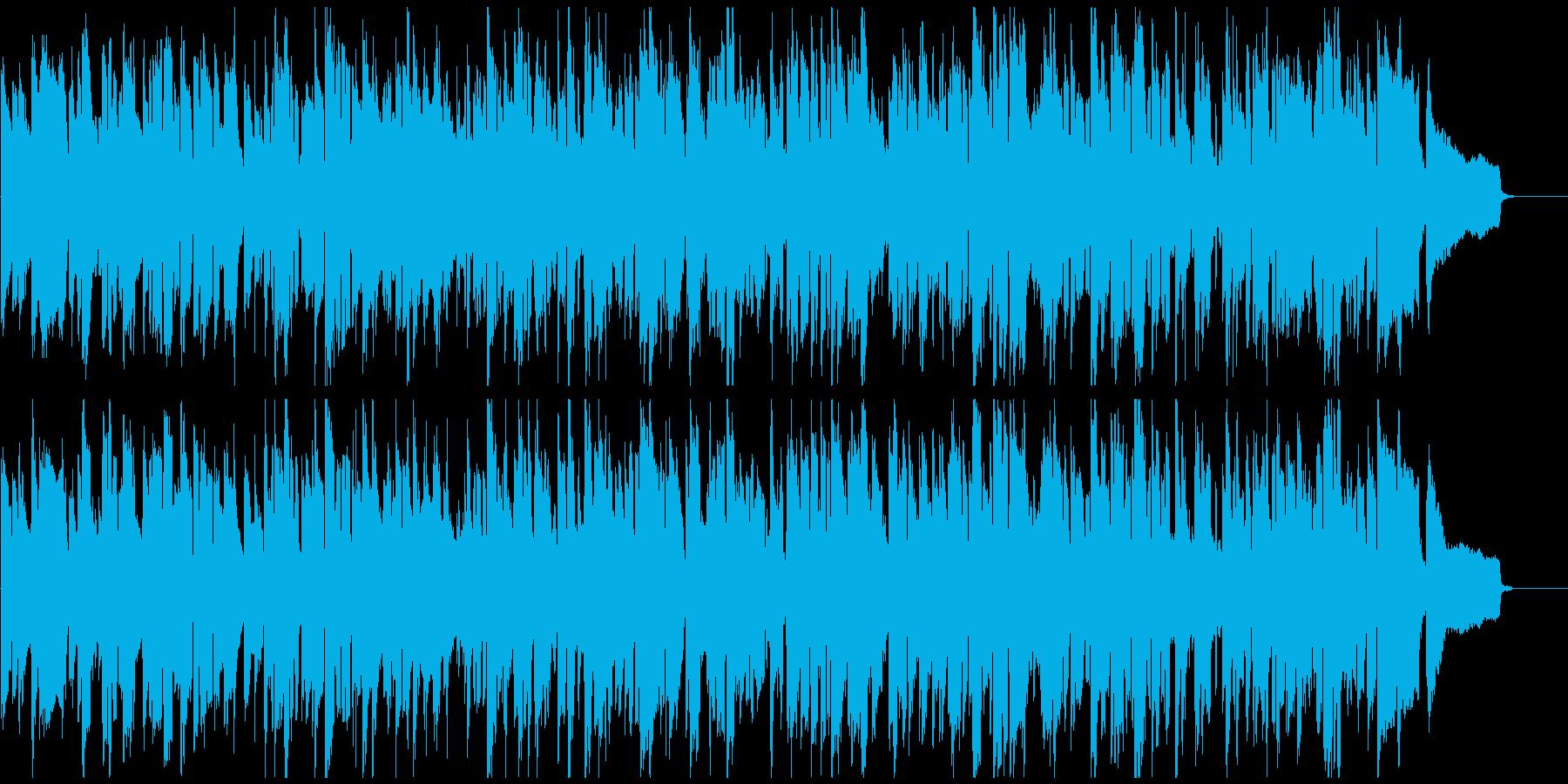 珍しいリコーダーのジャズ、かわいい音色の再生済みの波形
