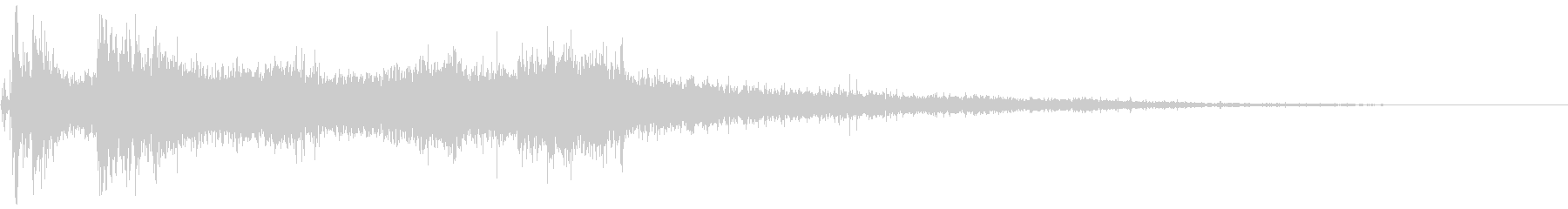 ベリーフロップの未再生の波形