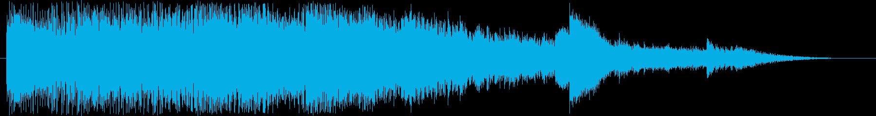 ジングル1 / ピアノ / サウンドロゴの再生済みの波形