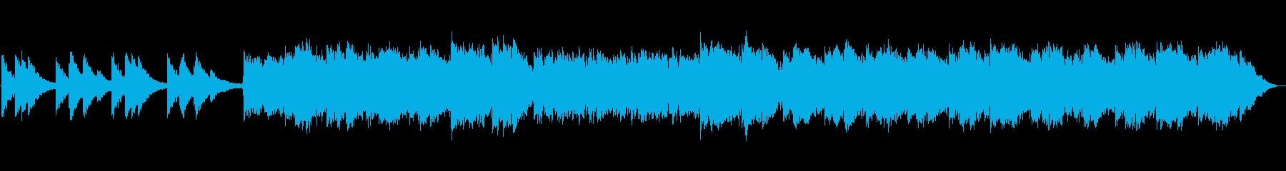 浮遊感たっぷりのエレピアンビエントの再生済みの波形
