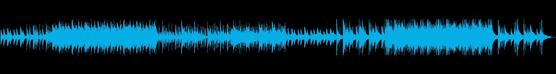 悲しみのピアノエレクトロ2の再生済みの波形
