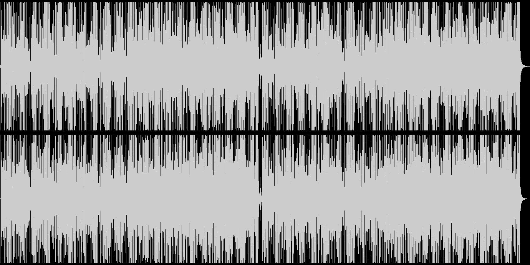 ハッピー&ポップな曲の未再生の波形