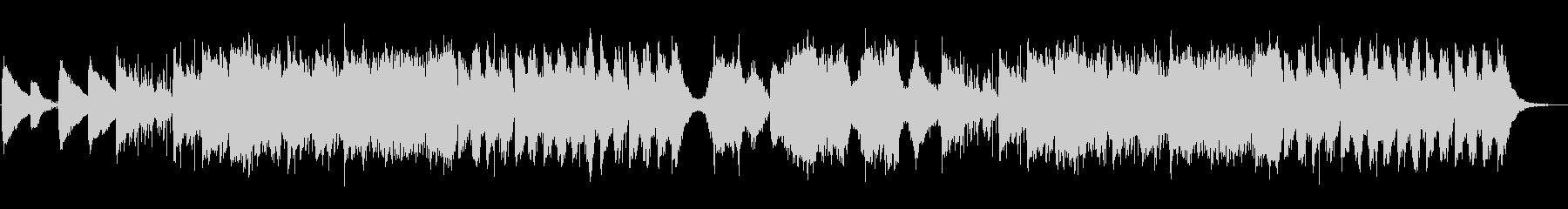 ピアノチェロ・回想シーン・雨の日の散策の未再生の波形