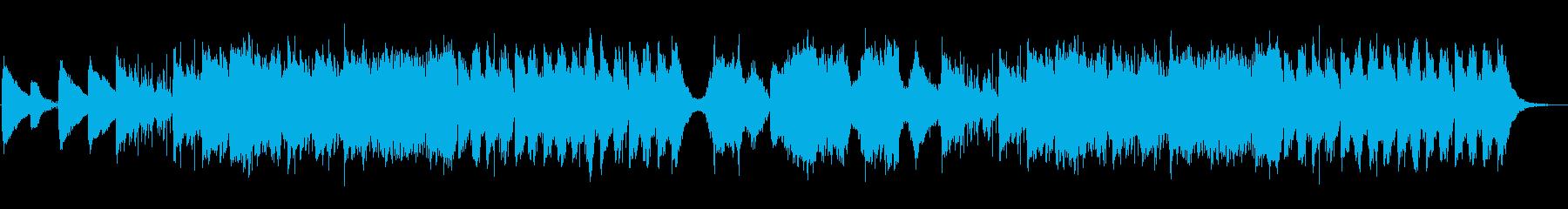 ピアノチェロ・回想シーン・雨の日の散策の再生済みの波形
