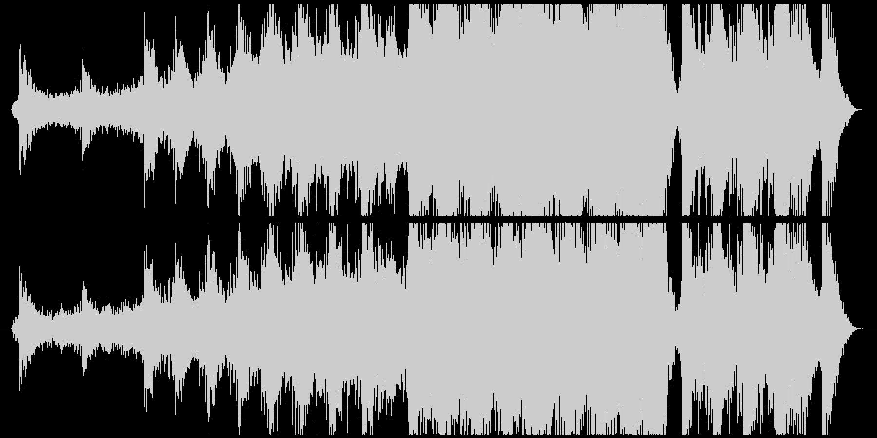 Epic Musicの未再生の波形