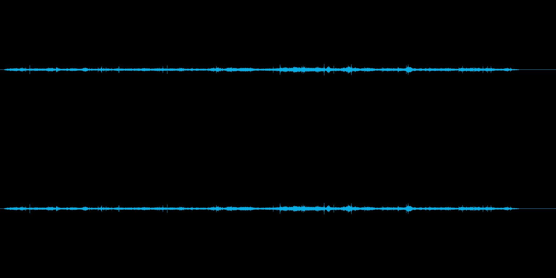 ハローでなめらかな波の再生済みの波形