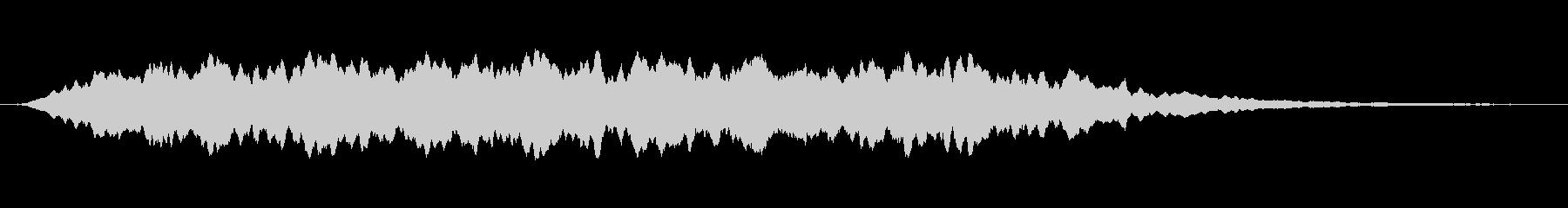 緊張 鬼合唱団ワンノートハイ02の未再生の波形