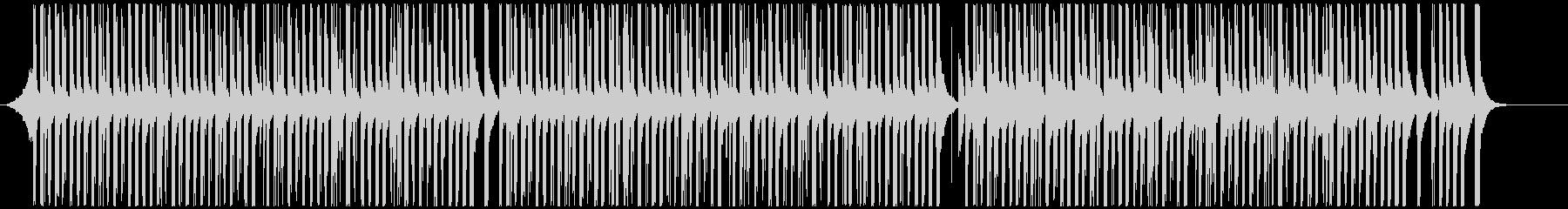 ドラムと手拍子ジングル明るい疾走感(長)  クラップリズムの未再生の波形
