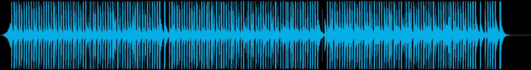 ドラムと手拍子ジングル明るい疾走感(長)  クラップリズムの再生済みの波形