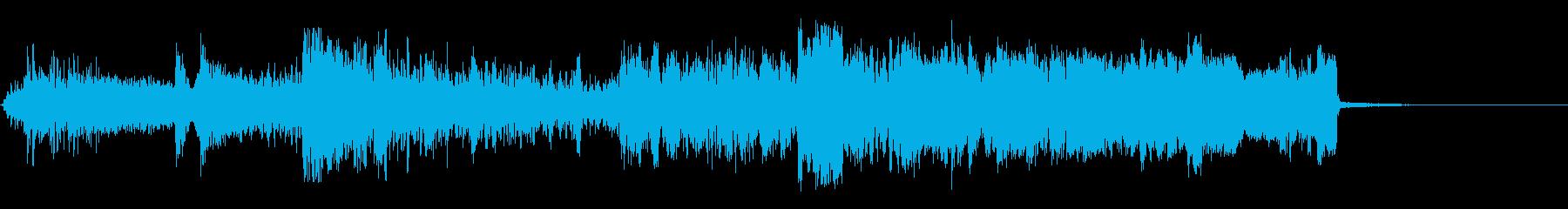 並置の再生済みの波形