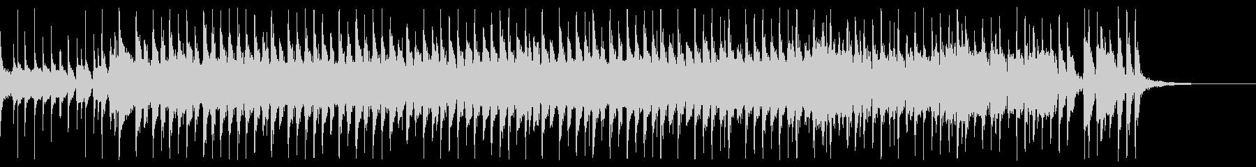 可愛い和風ポップロックの未再生の波形