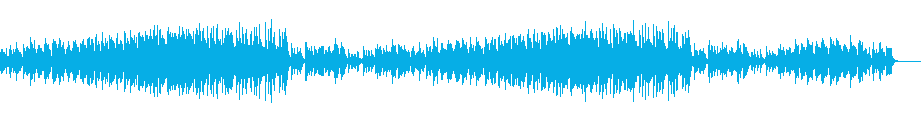 A song that suits science, technology, and biological images's reproduced waveform