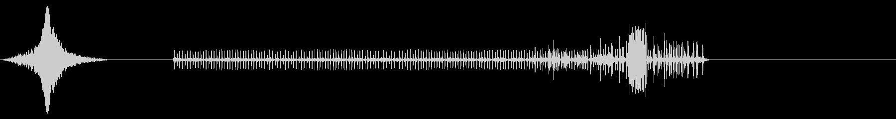 電源出力タイプ2 X2の未再生の波形