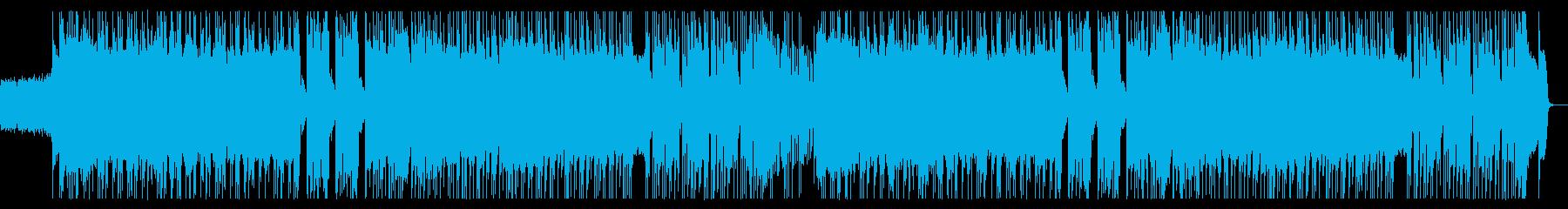 疾走感あるポップパンクの再生済みの波形