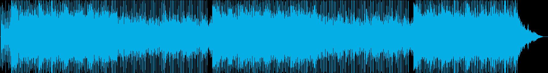 軽快 爽やか 企業VP 4つ打ち ハネ系の再生済みの波形