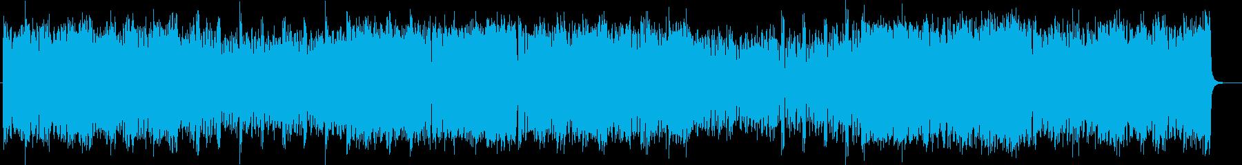 コミカルでトランペットが印象的なポップスの再生済みの波形