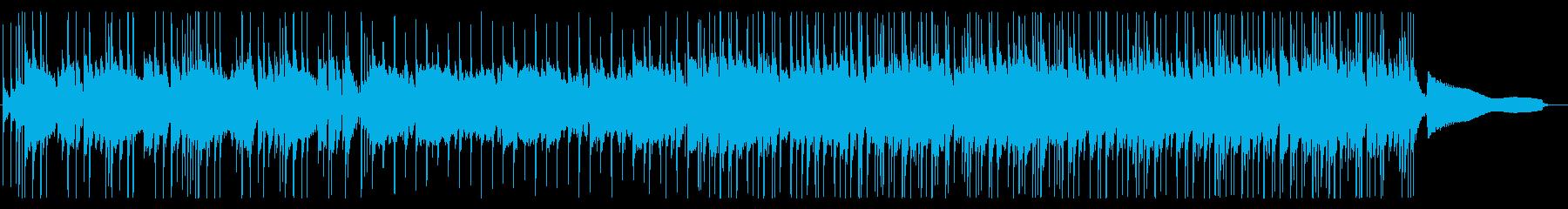 爽やかなショートBGMの再生済みの波形