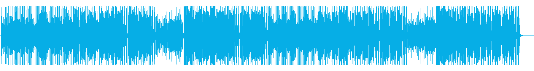 ダンサブルでパワフルなエレクトロポップの再生済みの波形