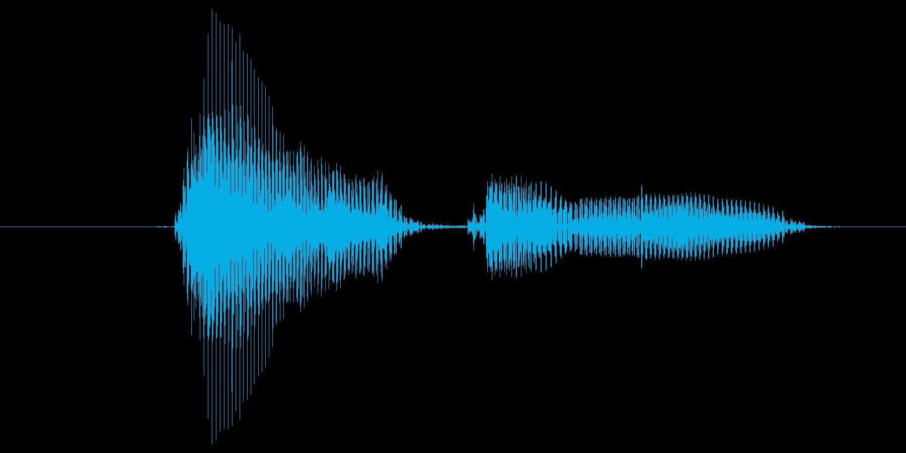 第五問の再生済みの波形