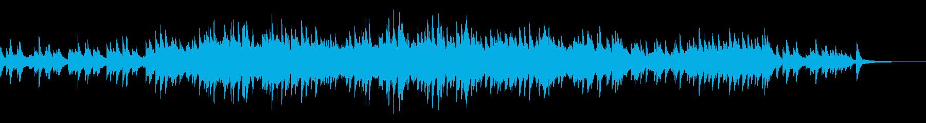 エンディングをイメージしたピアノソロの再生済みの波形