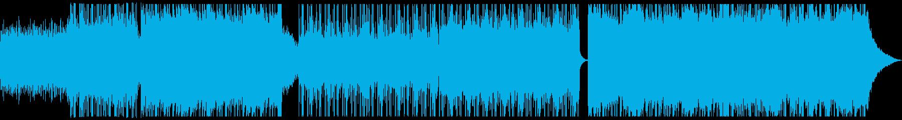 ポップ テクノ 広い 壮大 テクノ...の再生済みの波形