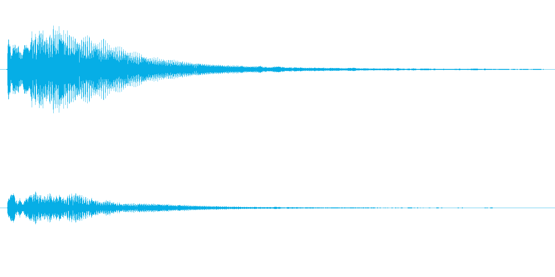 正解!レファラの再生済みの波形