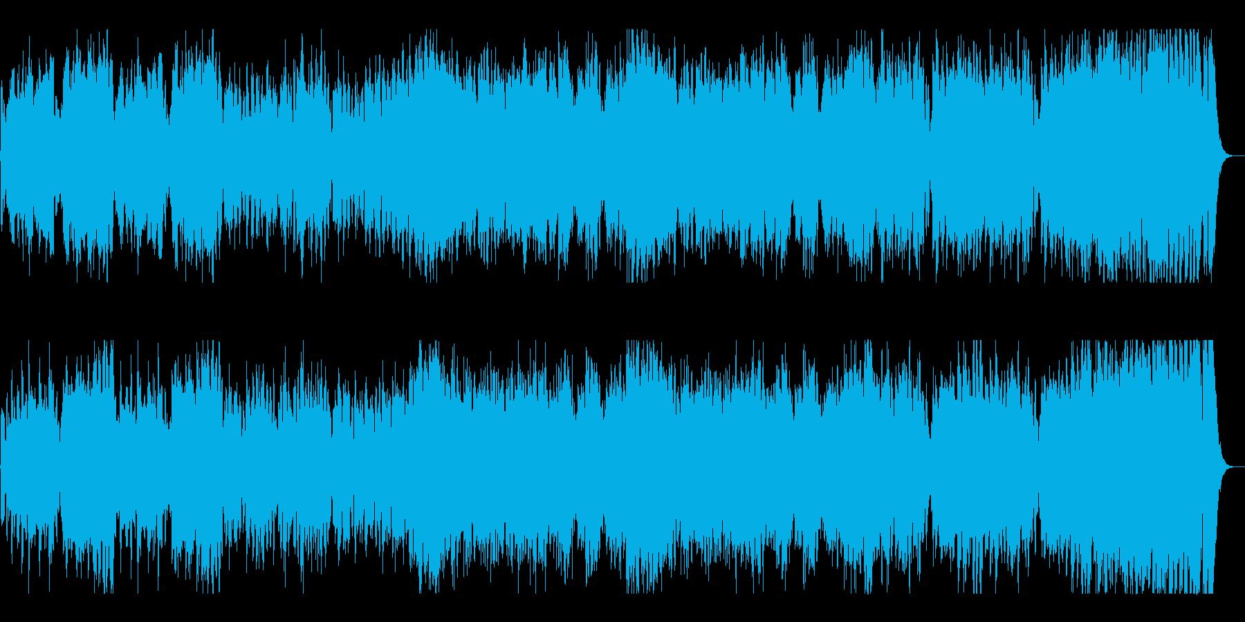 壮大なオーケストラポップの再生済みの波形