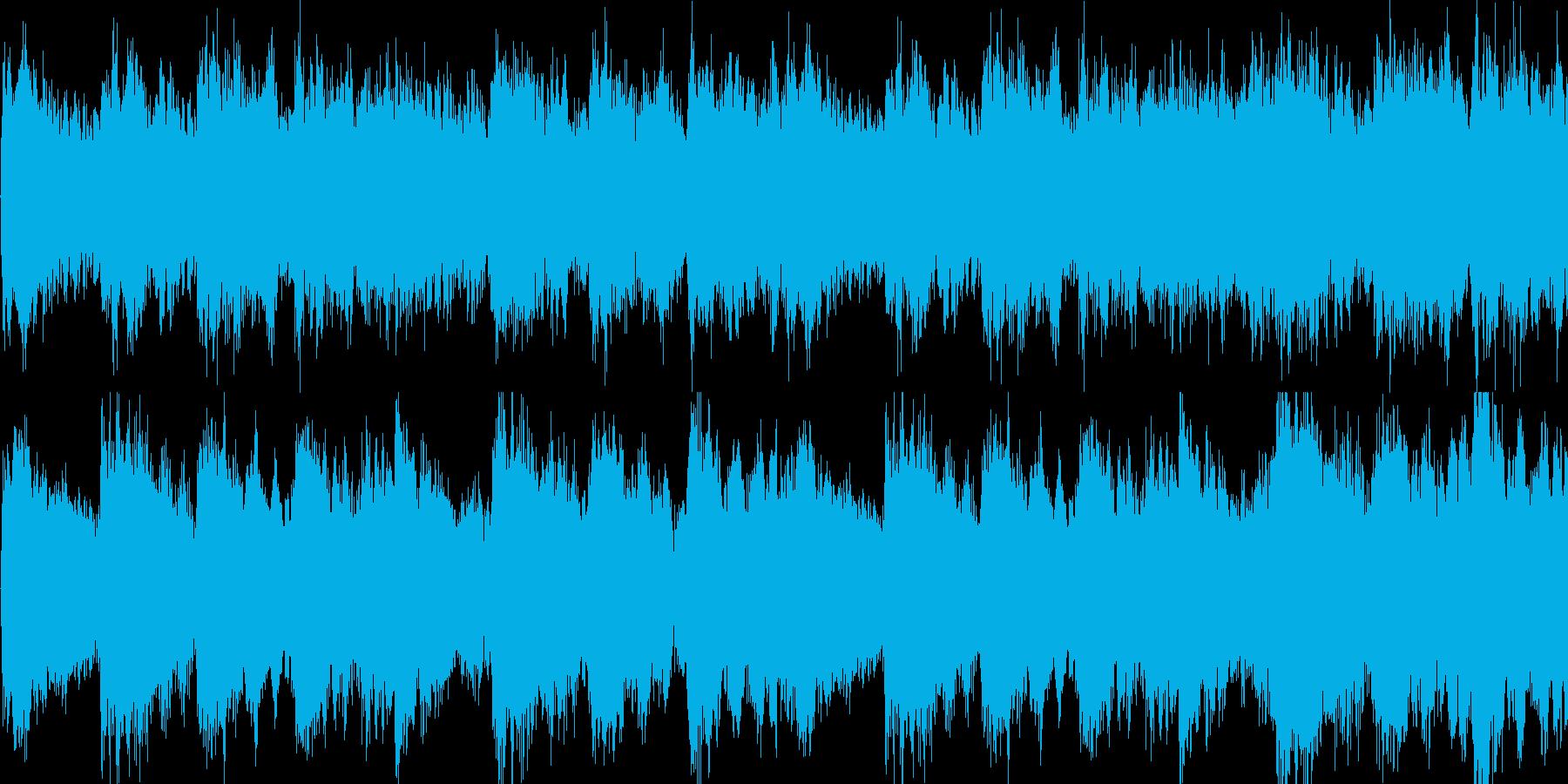 サウンドノベル ミステリー系 ループの再生済みの波形