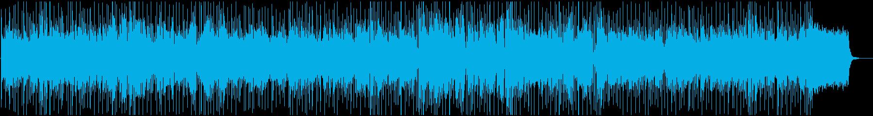 のんびりしたおしゃれなBGMの再生済みの波形