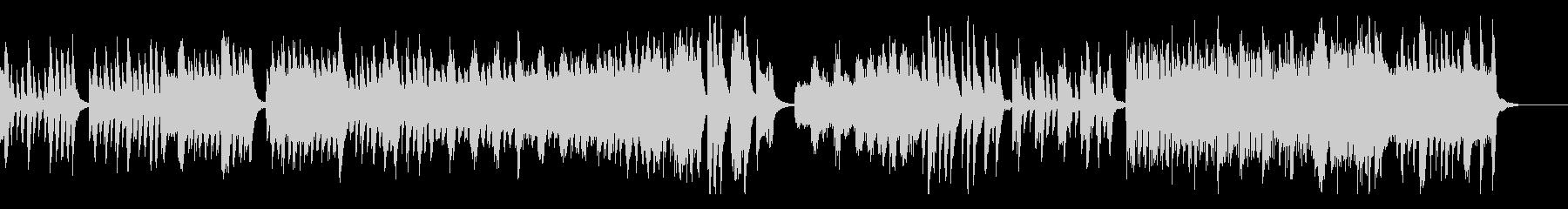 ハイドンのピアノソナタ第35番・第1楽章の未再生の波形