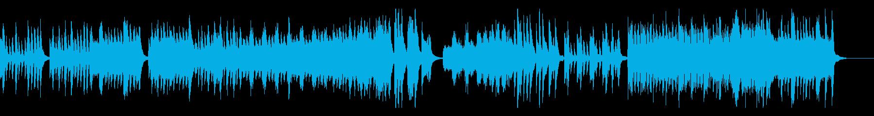 ハイドンのピアノソナタ第35番・第1楽章の再生済みの波形