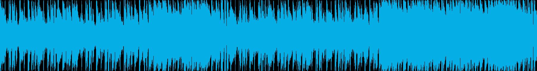 明るいギターポップループの再生済みの波形