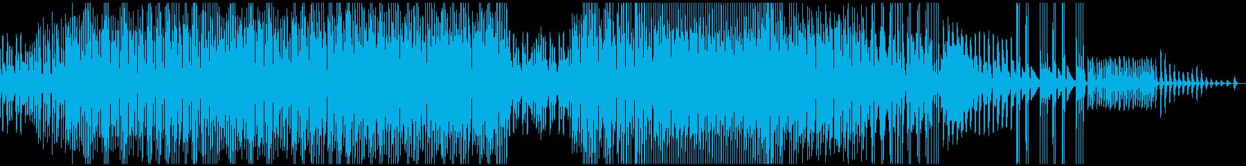 ほのぼのした三味線とマリンバのレゲエの再生済みの波形