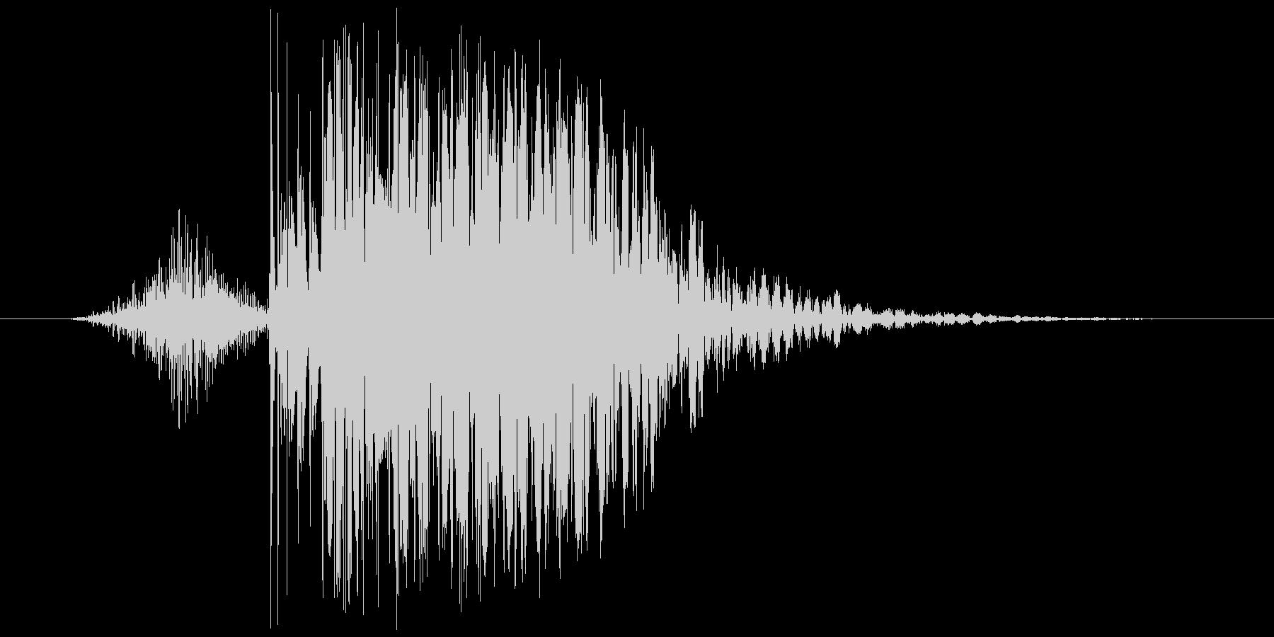 【いわゆるパンチ音】デシ系/デュクシ系の未再生の波形