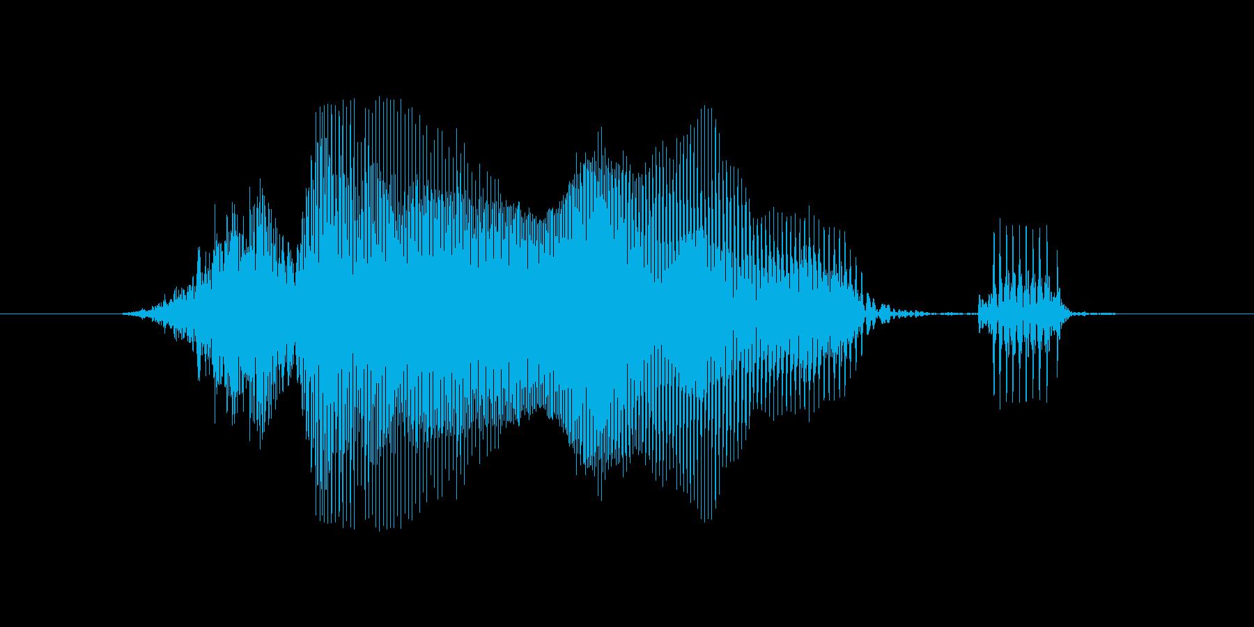 水曜日の再生済みの波形