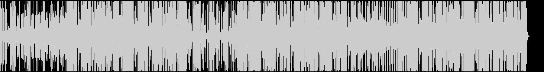 ファンクでハッピーな曲の未再生の波形