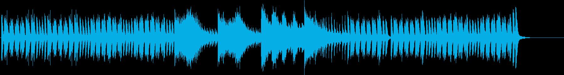 コミカルで軽快ファンタジーなピアノソロの再生済みの波形