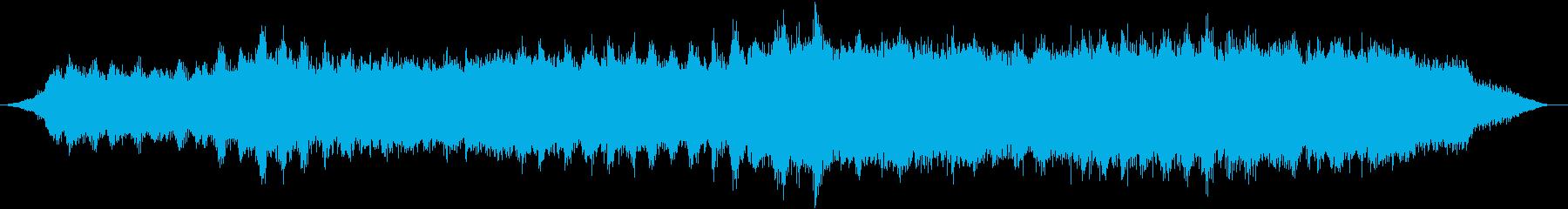 ストリングスによる不穏なアンビエントの再生済みの波形